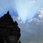 Die Hinduistischen Prambanan Tempel in Java
