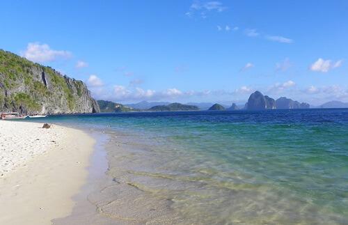 Palawan Philippinen - Das-paradiesische-El-Nido_Seven-Commando-beach