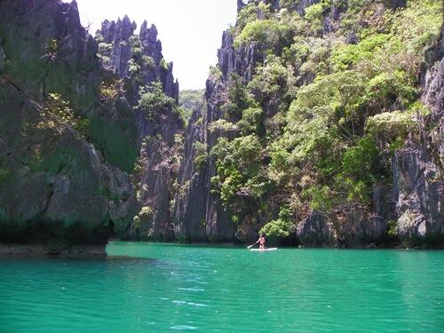 Palawan Philippinen - Das-paradiesische-El-Nido_small-lagoon-wie-im-traum