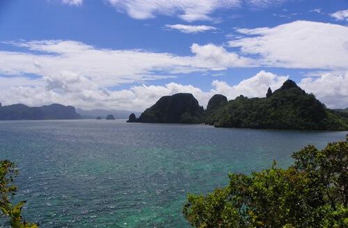 Palawan Philippinen - Das-paradiesische-El-Nido_snake-island-aussicht-von-der-plattform