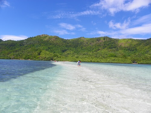 Palawan Philippinen - Das-paradiesische-El-Nido_snake-island-strand