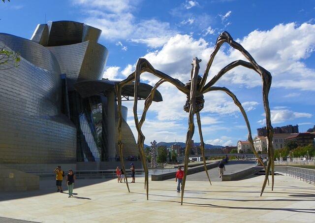 Sorglos Reisen-Was-du-in-Bilbao-Spanien-nicht-verpassen-solltest_guggenheim-museum-Spinne