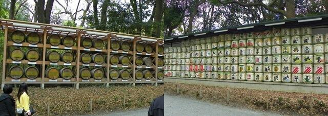 Was-tun-in-Tokio-Von-klassisch-bis-durchgeknallt_Meiji-Jingu-Schrein-Sake-und-Weinfaesser