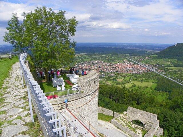 Schloesser-in-Deutschland_Burg-Hohenneuffen