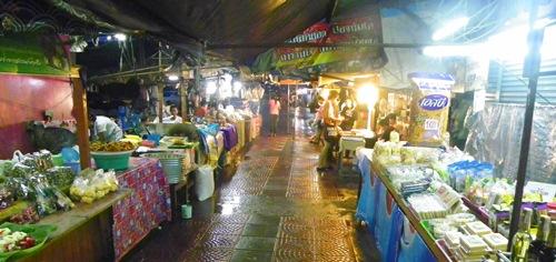 schwimmende Märkte nahe Bangkok Thailand amphawa 100 0084