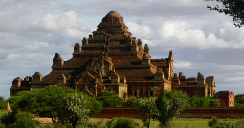 Myanmar Sehenswürdigkeiten - bagan da-ma-yan-gyi