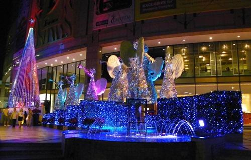 Weihnachten in Bangkok - emporium Engel