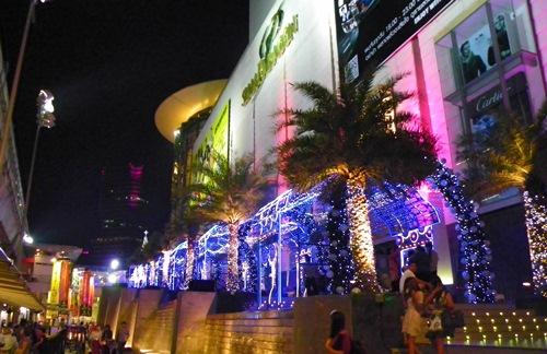 Weihnachten in Bangkok - siam paragon 1