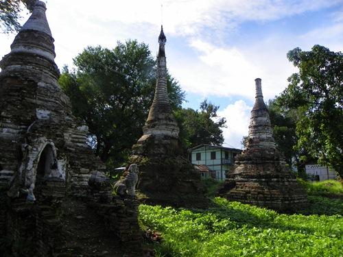 Myanmar Sehenswürdigkeiten - Hsipaw Klein Bagan