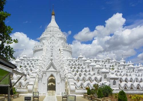 Myanmar Sehenswürdigkeiten - mingun-hsinbyume Pagode