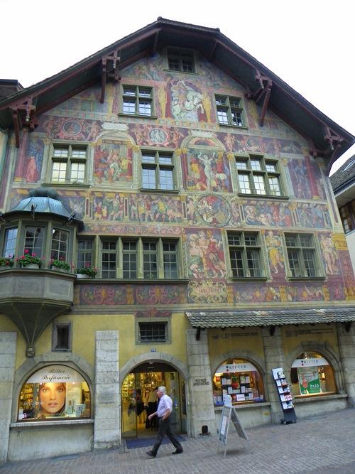 Sehenswürdigkeiten in Schaffhausen - schaffhausen-house-zum-ritter