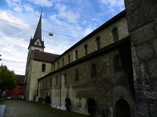 Sehenswürdigkeiten in Schaffhausen - Schaffhausen Die Münsterkirche
