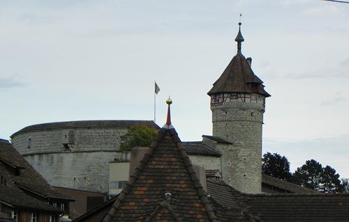 Sehenswürdigkeiten in Schaffhausen - schaffhausen-munot