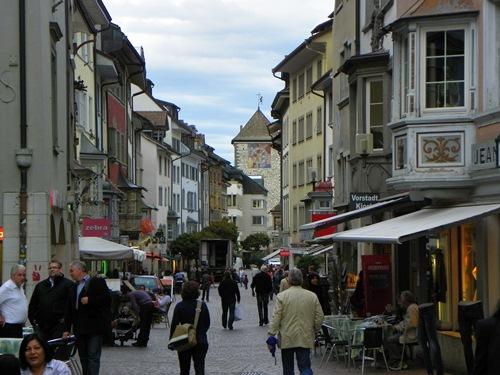 Sehenswürdigkeiten in Schaffhausen - schaffhausen-old-town