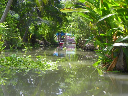 schwimmende Märkte nahe Bangkok Thailand tha-kha 100 0224