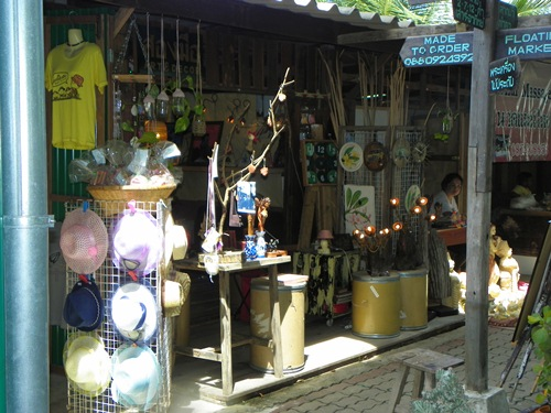 schwimmende Märkte nahe Bangkok Thailand tha-kha 100 0244